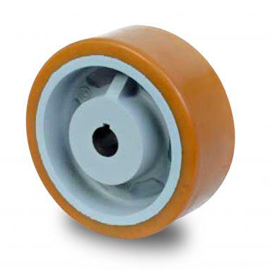 wiel, Ø 160 x 80mm, Vulkollan®, 1000KG