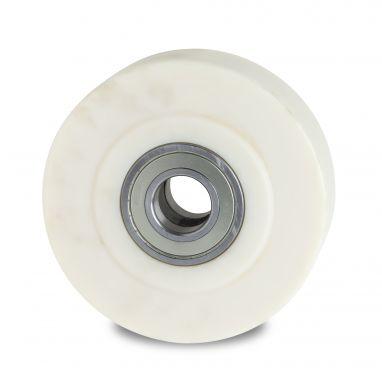 wiel, Ø 125mm, gegoten polyamide (PA6) wiel, 2000KG
