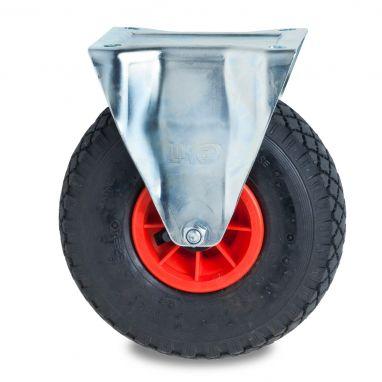Anti lek wiel - bokwiel met Massieve PU Ø260x85mm band maat 3.00.4