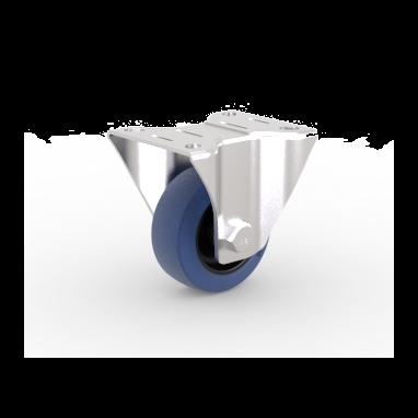 Bokwiel, Ø 80mm, elastische rubberband, 100KG