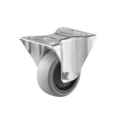 bokwiel, Ø 80, grijze niet-strepende thermoplastische rubberband, 100KG