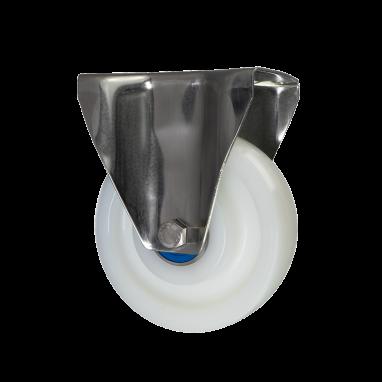 bokwiel, Ø 150mm, geheel polyamide (PA6) wiel, 700KG