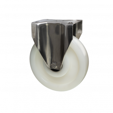 bokwiel, Ø 200mm, geheel polyamide (PA6) wiel, 700KG