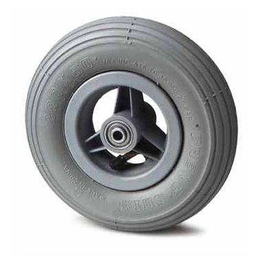 wiel, Ø 150 x 30mm, Luchtband met lijnprofiel, 75KG