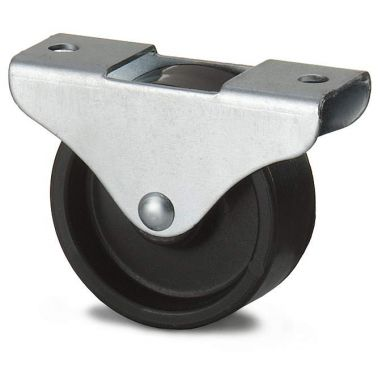 bokwiel, Ø 38 x 18mm, geheel Polypropyleen wiel, 45KG