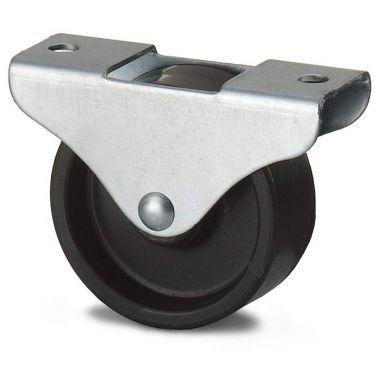 bokwiel, Ø 15 x 11mm, geheel Polypropyleen wiel, 20KG