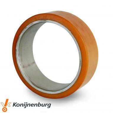 Vulkollan® heftruckbanden / persbanden, Ø 914 x 406mm, Vulkollan®, 22200KG
