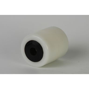 Polyamide PA6 Pallet roller Ø85x110 mm, with watertight sealing, axle hole: 25 mm, Hub length: 115 mm