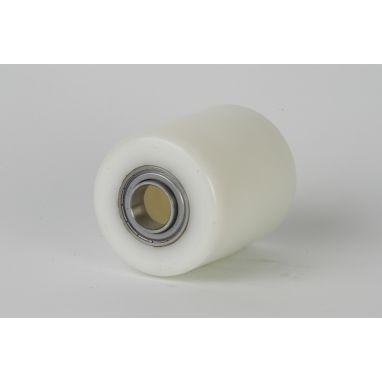Polyamide PA6 Pallet roller Ø85x110 mm, axle hole: 25 mm, Hub length: 108 mm