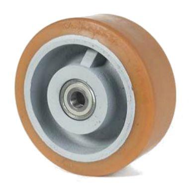 wiel, Ø 400 x 80mm, Vulkollan®, 2500KG
