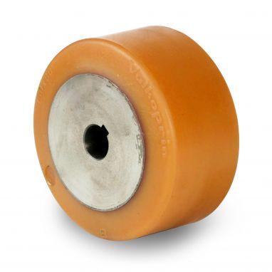 wiel, Ø 150 x 80mm, Vulkollan®, 1000KG
