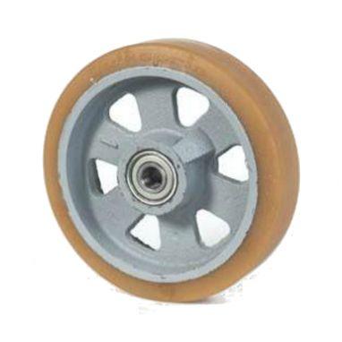 wiel, Ø 125 x 35mm, Vulkollan®, 375KG