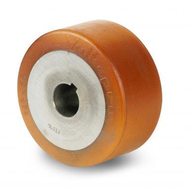 wiel, Ø 125 x 65mm, Vulkollan®, 675KG