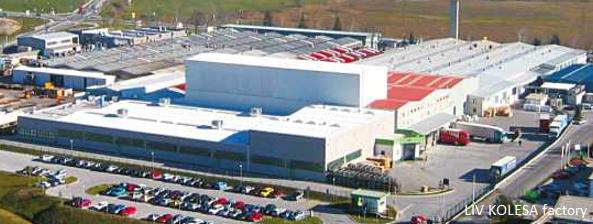 Fabriek van LIV KOLESA