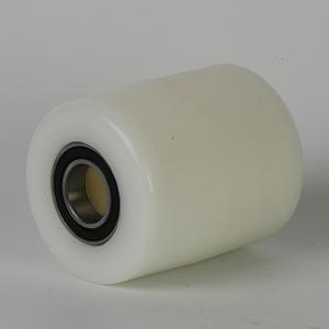 Palletrol met loopvlak met lichte radius